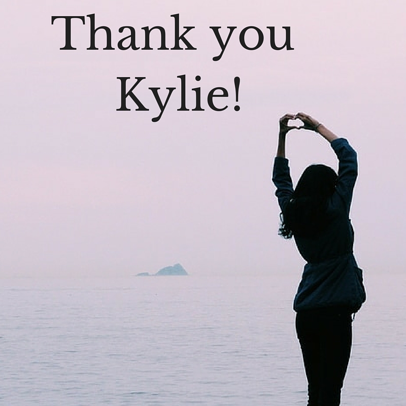 Thank you kylie!