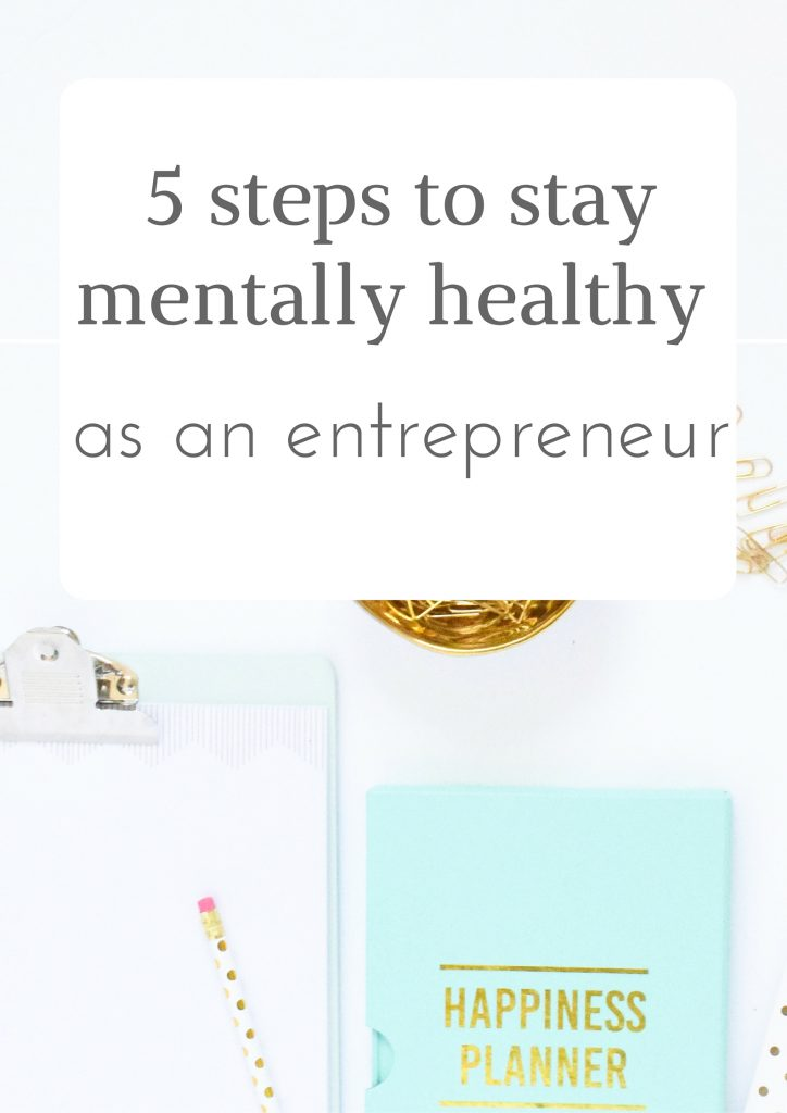 5 steps to stay mentally healthy Pinterest