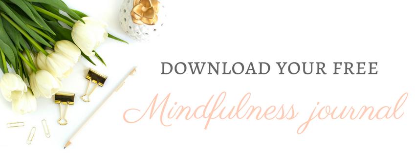 free mindfulness journal