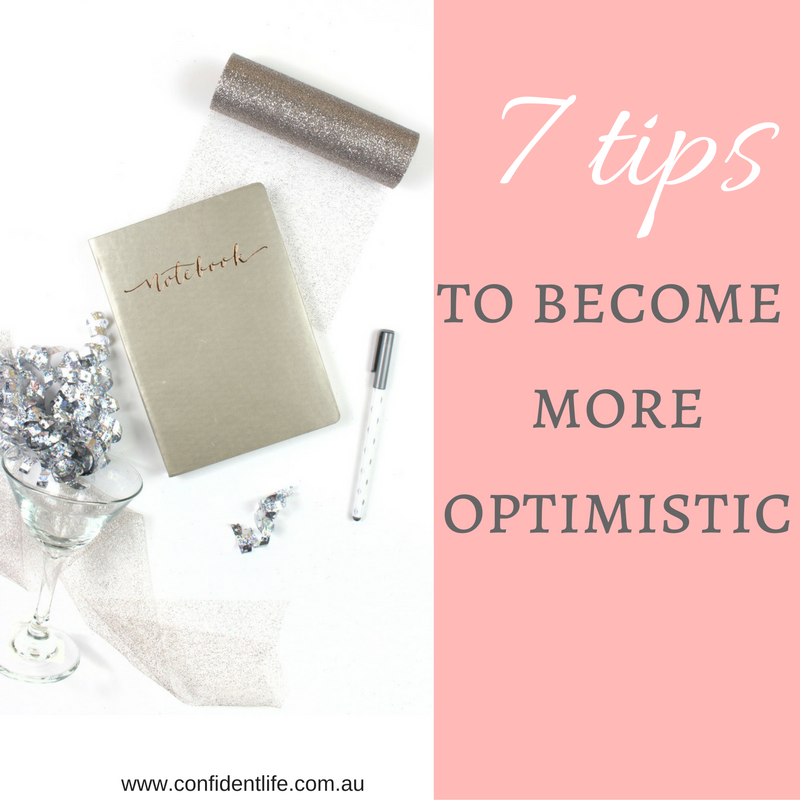 becoming optimistic